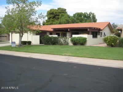 Mesa Single Family Home For Sale: 611 Leisure World