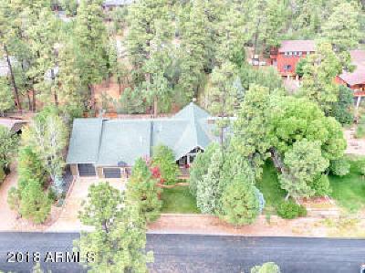 Lakeside Single Family Home For Sale: 5080 Mogollon Rim Drive