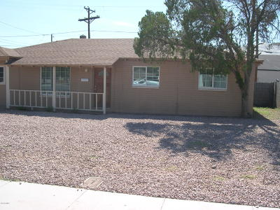 Phoenix Single Family Home For Sale: 5025 W Mackenzie Drive