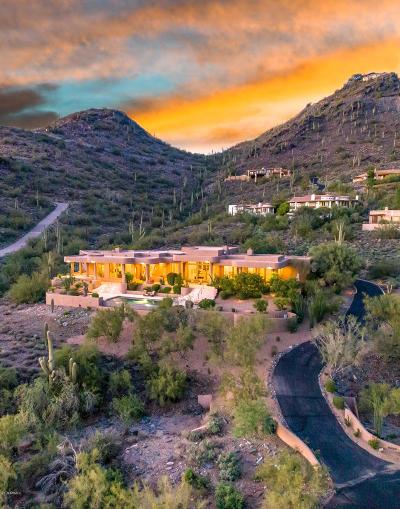 Carefree AZ Single Family Home For Sale: $2,100,000