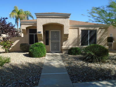 Sun City West Single Family Home UCB (Under Contract-Backups): 13709 W Countryside Drive