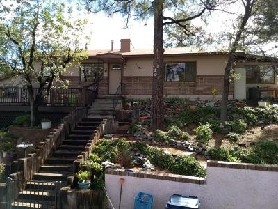 Prescott Single Family Home UCB (Under Contract-Backups): 1107 W Skyview Drive