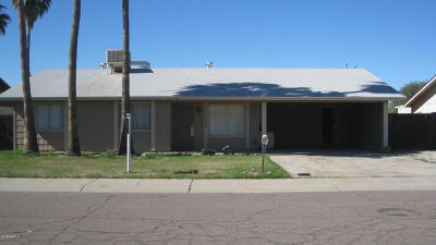 Glendale Single Family Home For Sale: 11424 N 57th Drive