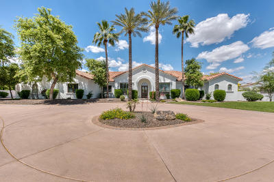Paradise Valley Single Family Home For Sale: 6814 E Indian Bend Road