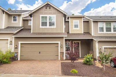 Flagstaff Condo/Townhouse For Sale: 3133 S Hannah Lane