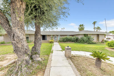 Tempe Single Family Home For Sale: 2107 E Geneva Drive