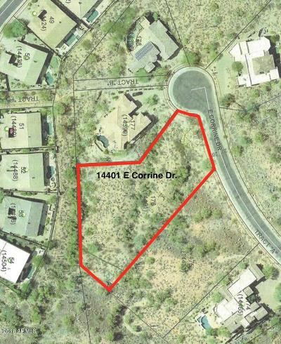Scottsdale Residential Lots & Land For Sale: 14401 E Corrine Drive