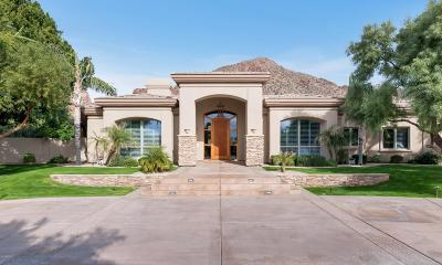 Phoenix AZ Single Family Home For Sale: $2,795,000