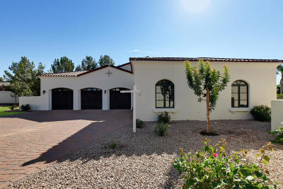 Chandler Single Family Home For Sale: 1777 W Ocotillo Road #13