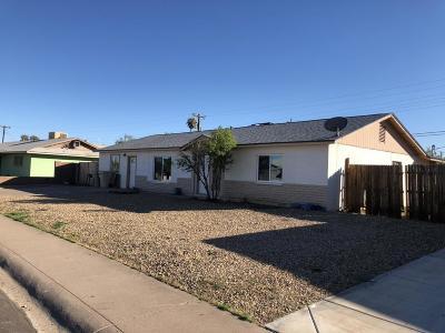 Glendale AZ Single Family Home For Sale: $140,000