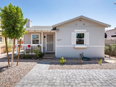Phoenix Single Family Home For Sale: 1617 W Lynwood Street