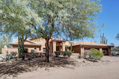 Cave Creek Single Family Home For Sale: 6540 E Ocupado Drive
