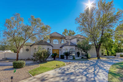 Paradise Valley Single Family Home For Sale: 6259 E Mountain View Road
