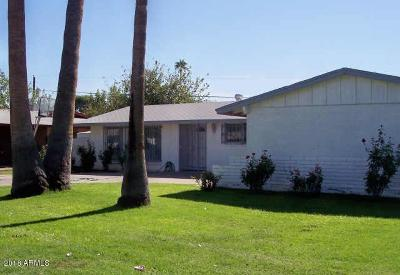 Phoenix Single Family Home For Sale: 3731 W Griswold Road