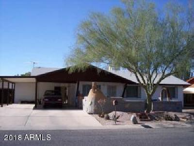 Casa Grande Single Family Home For Sale: 1759 N Lehmberg Avenue