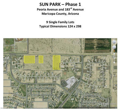 Waddell Residential Lots & Land For Sale: 184xx W Peoria Avenue