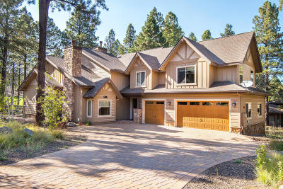 Flagstaff Single Family Home For Sale: 3660 W Round Pen