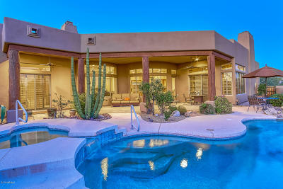Carefree AZ Single Family Home For Sale: $1,195,000