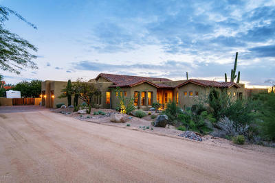 Carefree AZ Single Family Home For Sale: $759,000