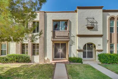 Scottsdale Condo/Townhouse For Sale: 5146 N Granite Reef Road