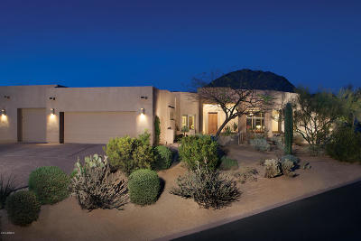 Desert Highlands, Desert Highlands Phase 1, Desert Highlands Area A Lot 40-71 Tr A Pvt St, Desert Highlands Phase 2, Desert Highlands Phase 3 Single Family Home For Sale: 10040 E Happy Valley Road #341