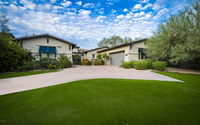 Scottsdale Single Family Home For Sale: 9594 E Mountain Spring Road