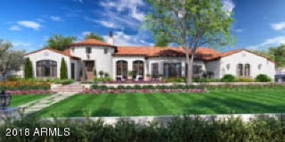 Paradise Valley Single Family Home For Sale: 5205 N Monte Vista Drive