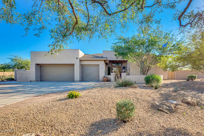 Cave Creek Single Family Home UCB (Under Contract-Backups): 3643 E Galvin Street