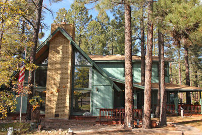 Lakeside Single Family Home For Sale: 2526 E West Rim Road