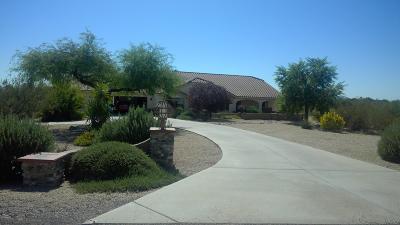 Wickenburg Single Family Home For Sale: 21635 W El Grande Trail