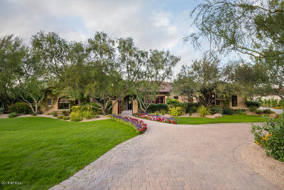 Paradise Valley AZ Single Family Home For Sale: $3,295,000