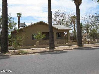 Phoenix Single Family Home For Sale: 103 N 21st Avenue