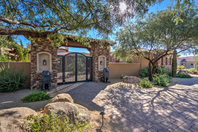 Grayhawk Single Family Home For Sale: 8669 E Overlook Drive