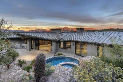 Carefree AZ Single Family Home For Sale: $3,800,000