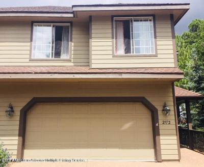 Flagstaff Condo/Townhouse For Sale: 2172 N Old Stump Way
