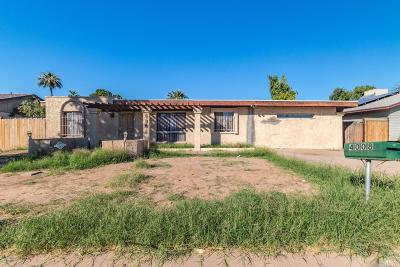 Phoenix Single Family Home UCB (Under Contract-Backups): 4008 E Saint Catherine Avenue