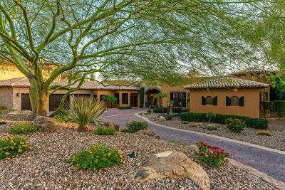 Single Family Home For Sale: 11843 E Desert Trail Road