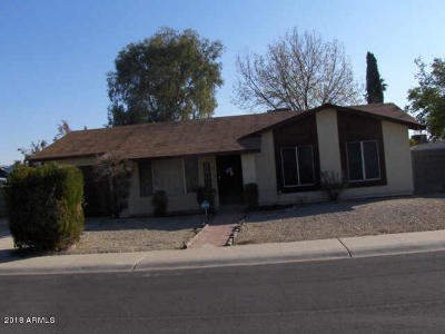 Glendale Single Family Home UCB (Under Contract-Backups): 5603 W Charleston Avenue