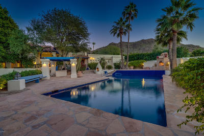 Paradise Valley Single Family Home For Sale: 7611 N Shadow Mountain Road