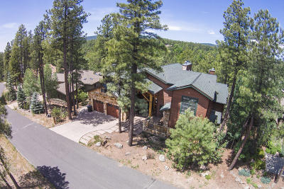 Payson, Pine, Pinedale, Pinetop, Lakeside, Show Low, Strawberry, Flagstaff, Munds Park, Prescott, Prescott Valley, Happy Jack, Sedona Single Family Home For Sale: 2302 Link Smith