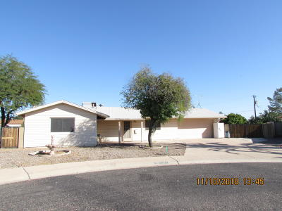 Sun City AZ Single Family Home For Sale: $187,900