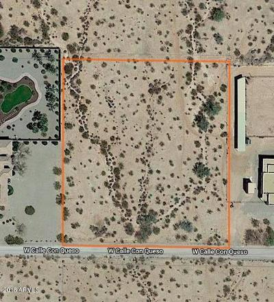 Casa Grande Residential Lots & Land For Sale: 11336 W Calle Conqueso Road