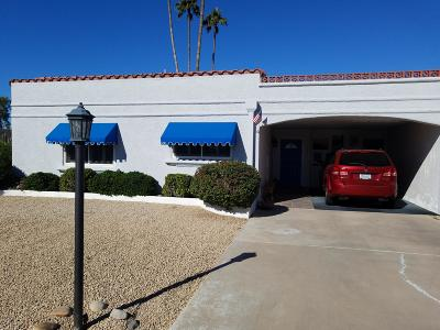 Scottsdale Condo/Townhouse For Sale: 7632 E Rancho Vista Drive