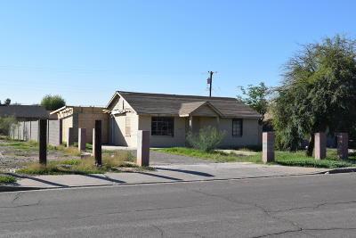 Phoenix Single Family Home For Sale: 3311 W Jefferson Street