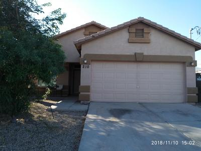 Avondale Single Family Home For Sale: 210 S 7th Street