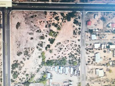Apache Junction Residential Lots & Land For Sale: 645 N Ironwood Road