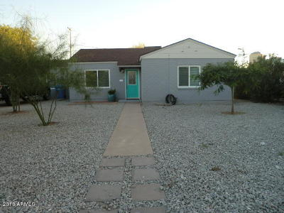 Phoenix Single Family Home For Sale: 521 E Mitchell Drive