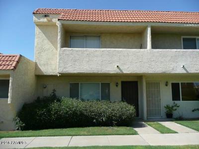 Glendale Condo/Townhouse For Sale: 4821 W Marlette Avenue
