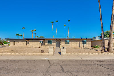 Glendale Single Family Home UCB (Under Contract-Backups): 4448 W Las Palmaritas Drive