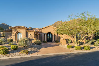 Scottsdale Mountain Single Family Home For Sale: 13606 E Charter Oak Drive